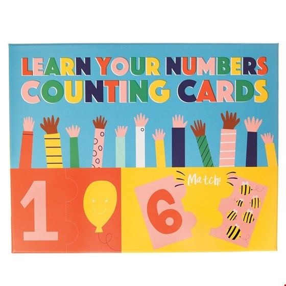 Learn Your Numbers Jigsaw Cards