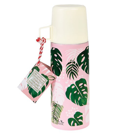 Tropical Palm Flask