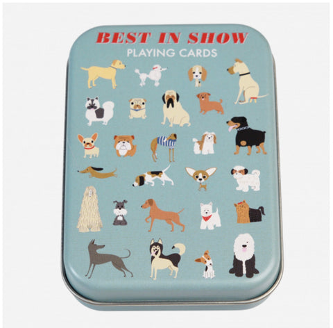 Best in Show Tin Playing Cards