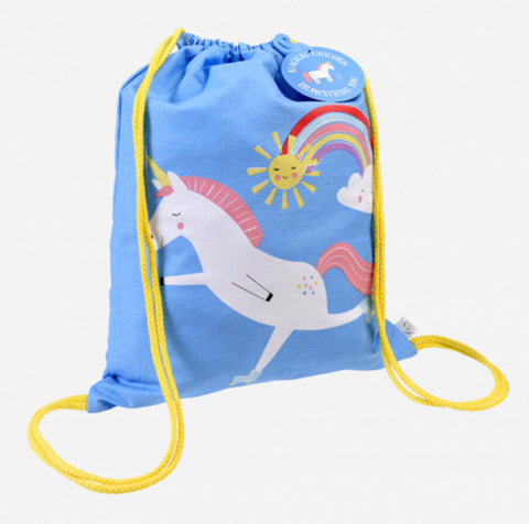 Magical Unicorn Drawstring Bag