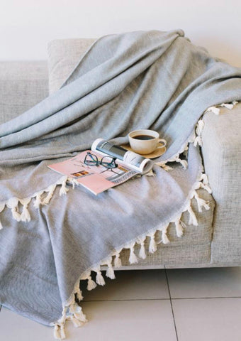 Herringbone Blanket Throws