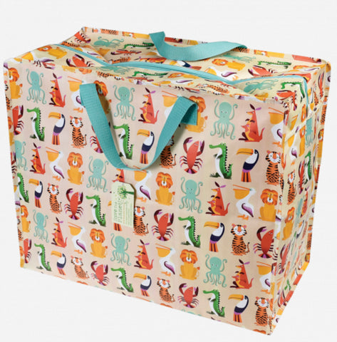 Colourful Creatures Jumbo Shopper