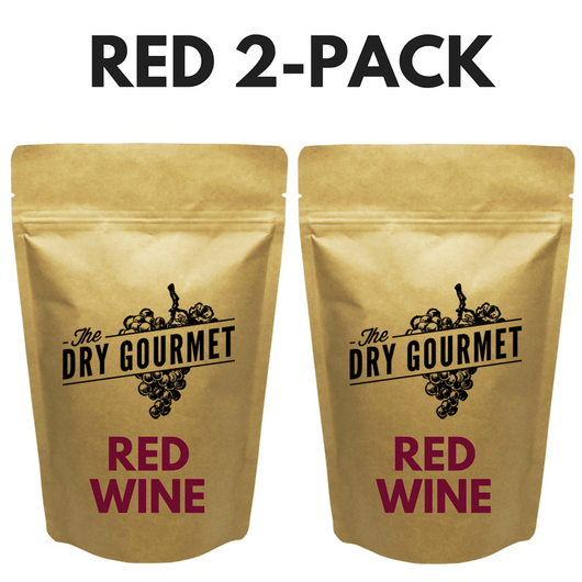 The Dry Gourmet - 2-Pack of Red Wine Bouillon - FREE Shipping!