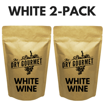 The Dry Gourmet - 2-Pack of White Wine Bouillon - FREE Shipping!