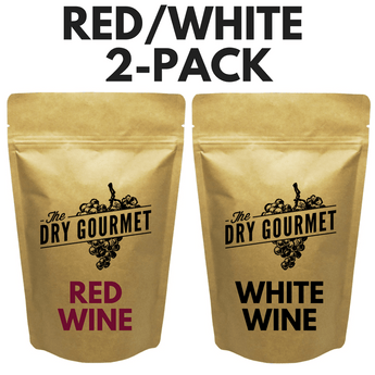 The Dry Gourmet - 1 Red + 1 White (2-Pack of Wine Bouillon) FREE Shipping!