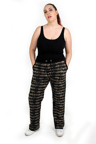 Plus Size Woman Joggers