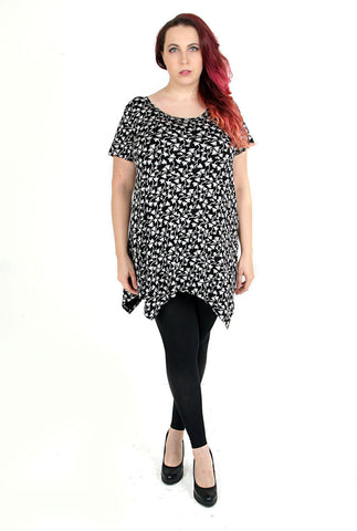 Plus Size Woman Top