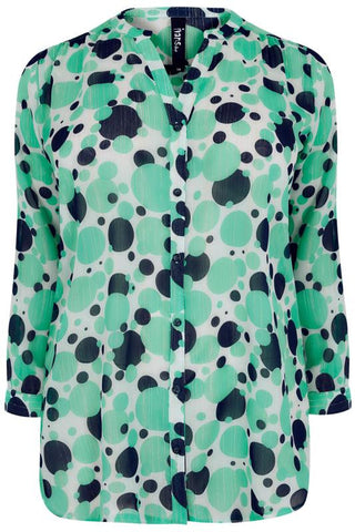 Light Green Blouse,Plus size clothing,womens plus size clothing,big size ladies dress,plus size