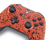 Xbox One Custom Controller - 3D Orange Splash Edition | #3000801