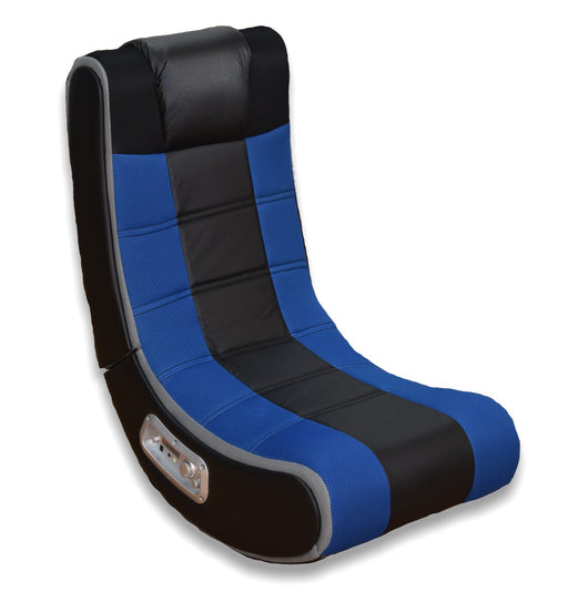X Rocker® V Rocker® Sound Chair in Black/Blue (#5130201)