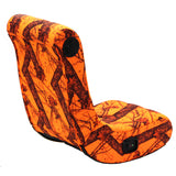 Mossy Oak Orange Camouflage: X Rocker® V Rocker® 2.0 Wired Gaming Chair