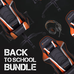 Back-To-School Adrenaline PC Gaming Bundle (PC Chair & XH3 Pro Headset)
