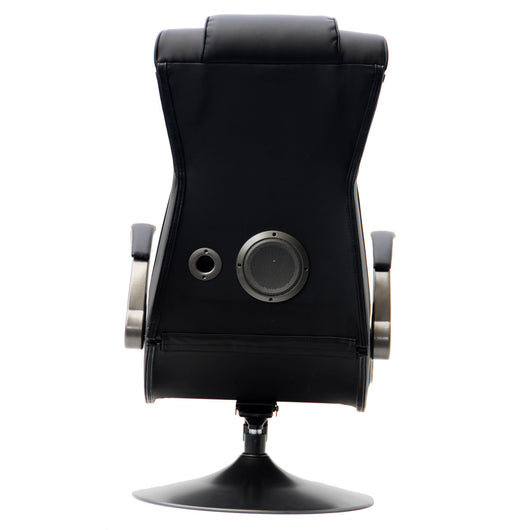 X Rocker Bluetooth Pedestal Gaming Chair Full Size Bed