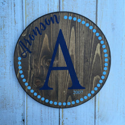 Monogram Custom Sign
