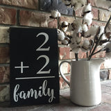 Flashcard Sign - Vintage style flash card sign - farmhouse style sign - gallery wall decor - hand painted