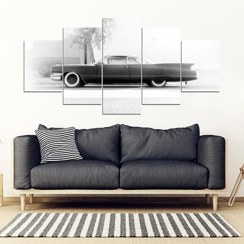 The Coupe Devil 5 Piece Framed Canvas
