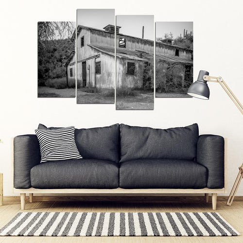 Castle Host Springs 4 Piece Framed Canvas