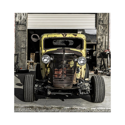 Hot Rod Microfiber Duvet Cover