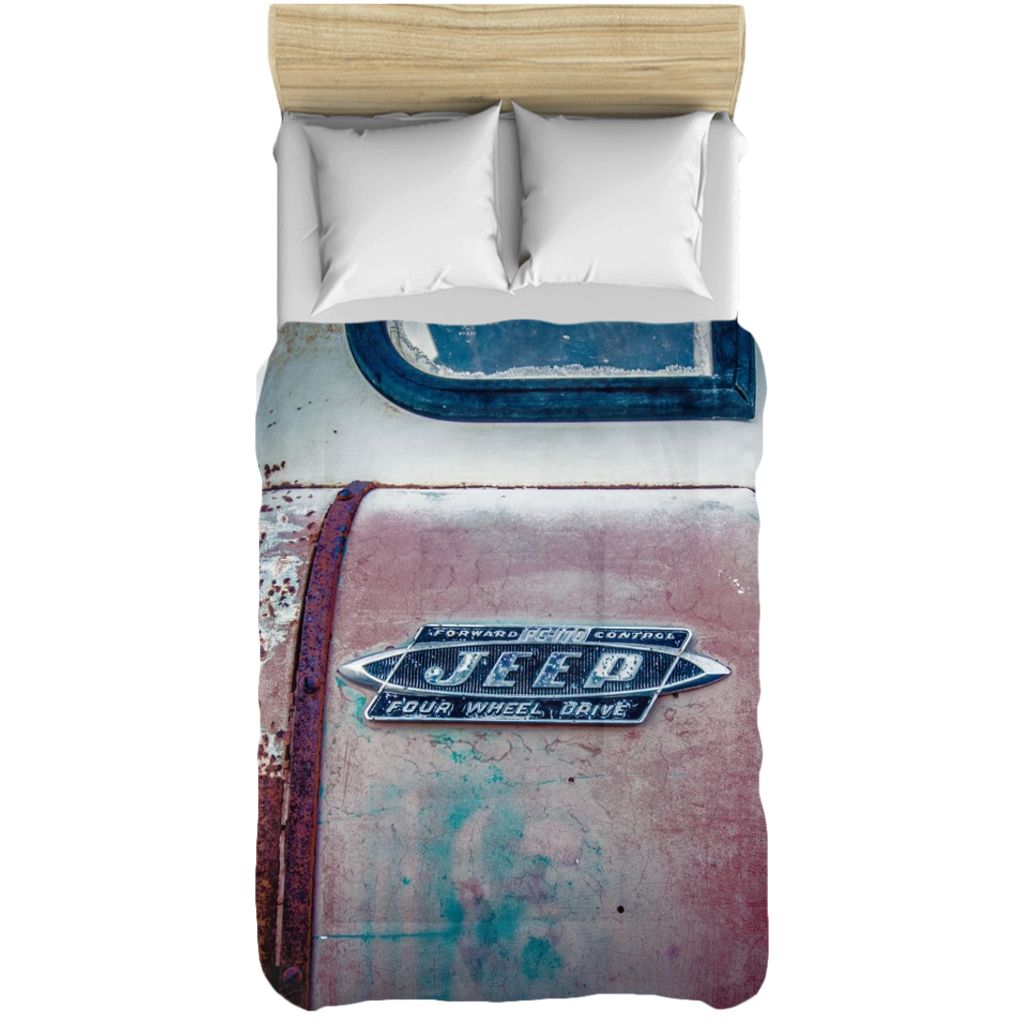 This Old Jeep Comforter