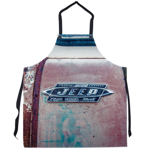 This old Jeep Apron
