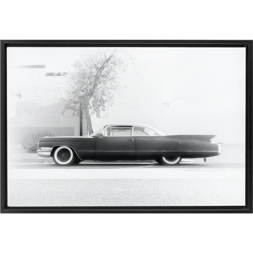 The Coupe Devil Framed Canvas Wraps