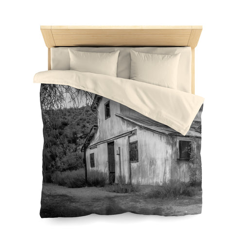 Castle Hot Springs Microfiber Duvet Cover