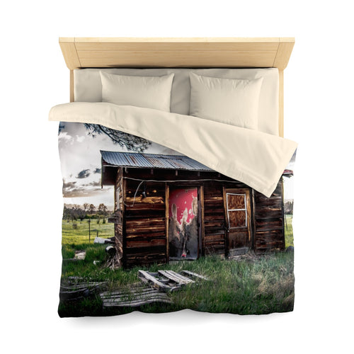 The Pioneer's Dream Microfiber Duvet Cover