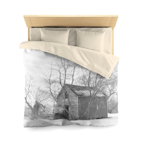 Reflective Serenity Duvet Cover