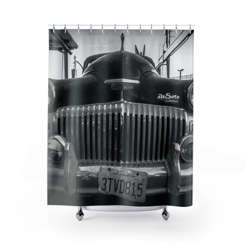 The Old DeSoto Shower Curtains