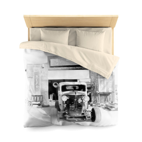 The Rat's Garage Microfiber Duvet Cover