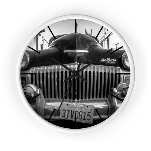 The Old  DeSoto Wall clock