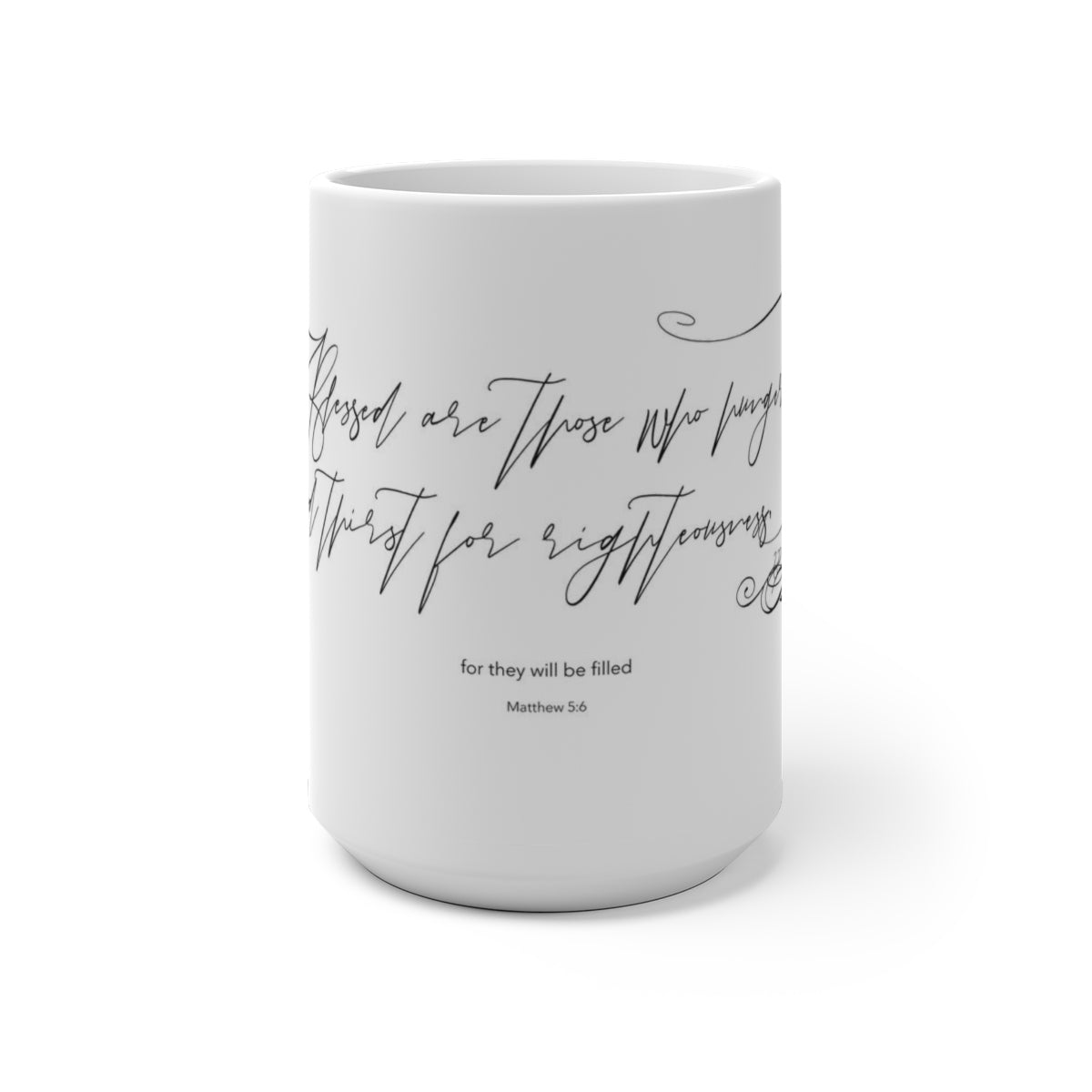 Blessed are those who hunger Color Changing Mug