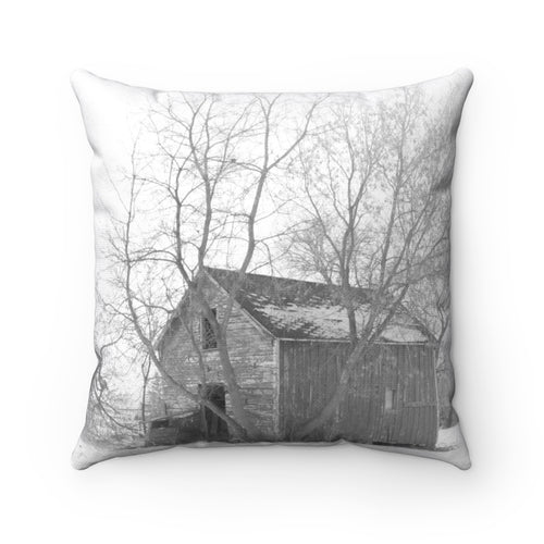 Reflective Serenity Square Pillow