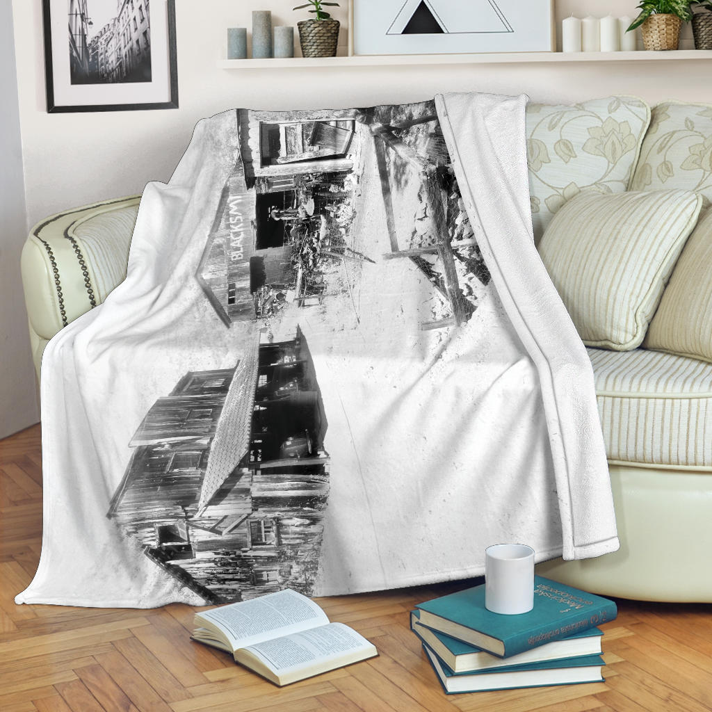 The Miner's Crib Premium Blanket