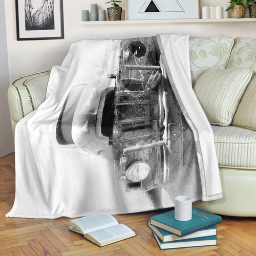 Pop Eye's Ride Premium Blanket