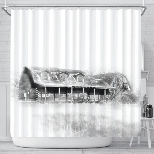The Yarnell Millionaire Shower Curtain