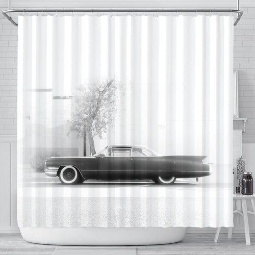 The Coupe Devil Shower Curtain