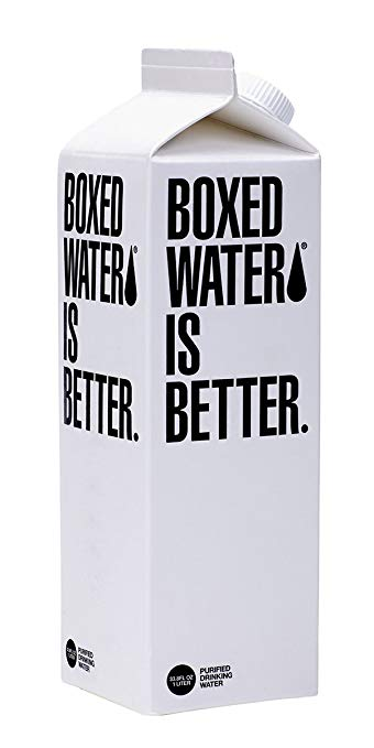 Boxed Still water, 33.8 Ounce Tetrapak (Pack of 12)