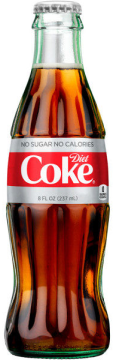 Diet Coke, 8 Ounce Glass bottles (Pack of 24)