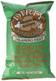 Dirty Potato Chips Jalapeno, Two Ounce Bags (Pack of 25)