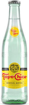 """Sparkling"" Mineral Water, 25.4 Ounce Glass Bottles (Pack of 12)"
