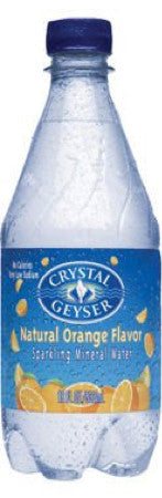 Crystal Geyser orange