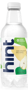 Pear Hint Water, 16.9 Ounce Bottles (Pack of 12)