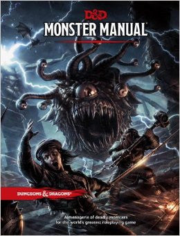 D&D: Monster Manual -- Dungeons & Dragons