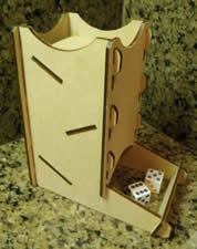 Knockdown Dice Tower
