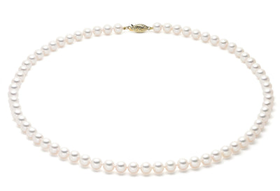 7-7.5mm AA Akoya Cultured Pearl Strand