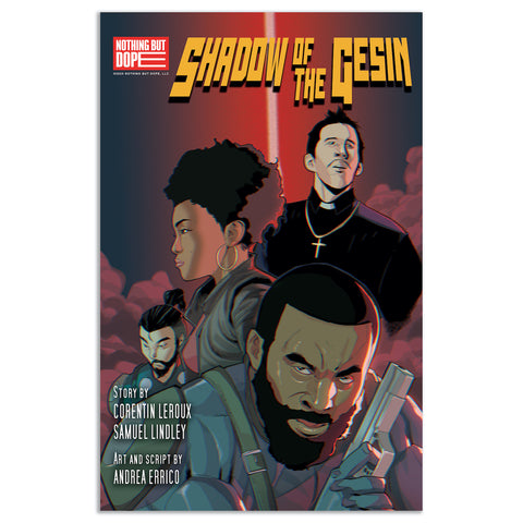 """Shadow Of The Gesin"" Comic (Diamond First Edition)"