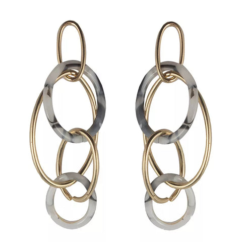 Intermingling Hoop Earrings