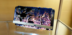 Iridescent Sequin Purse