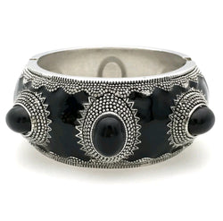 Black Tribal Bracelet